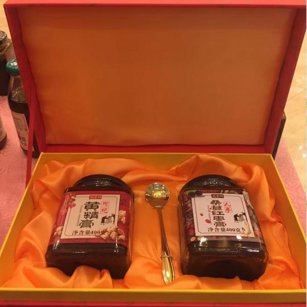 桑堪红枣膏+枸杞黄精膏礼盒