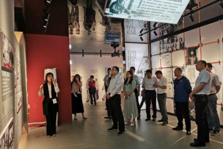 市卫生健康委组织参观廉政文化教育专线