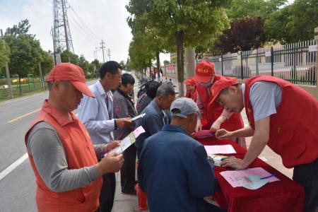 亭湖区纪检监察干部开展志愿宣讲活动